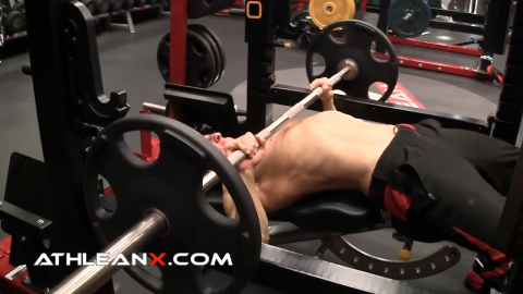 decline bench press for lower chest
