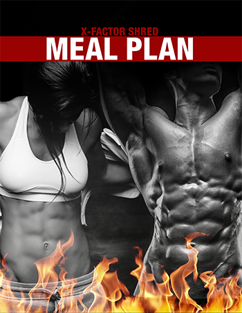 x-factor shred Meal Plan athleanx