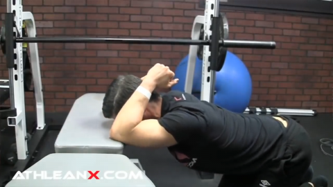 thoracic extension stretch