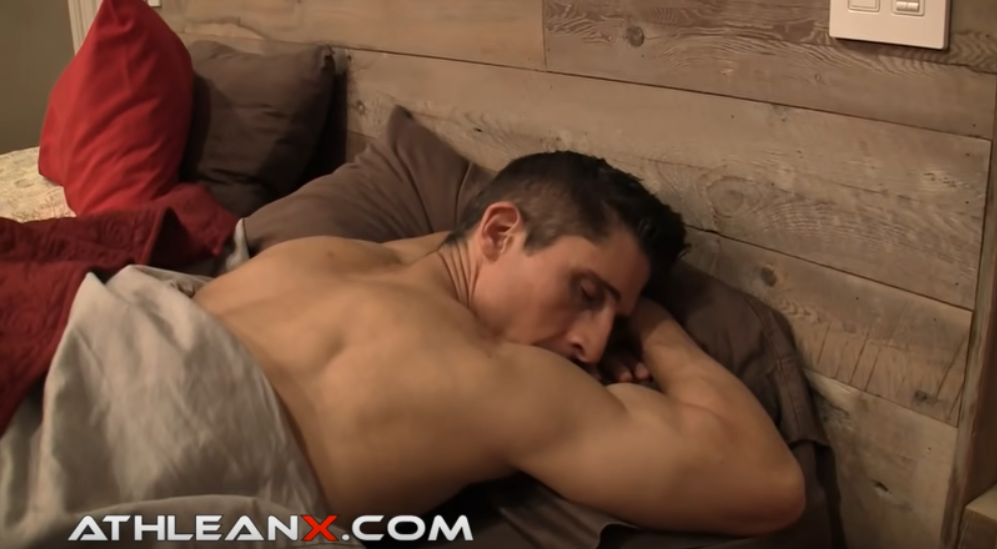 stomach sleeping with arms under head causes internal rotation of shoulders