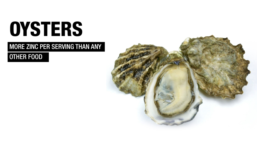 oysters fat loss