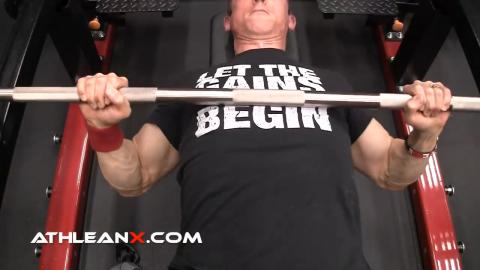 elbows bench press