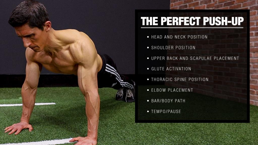 push ups proper form