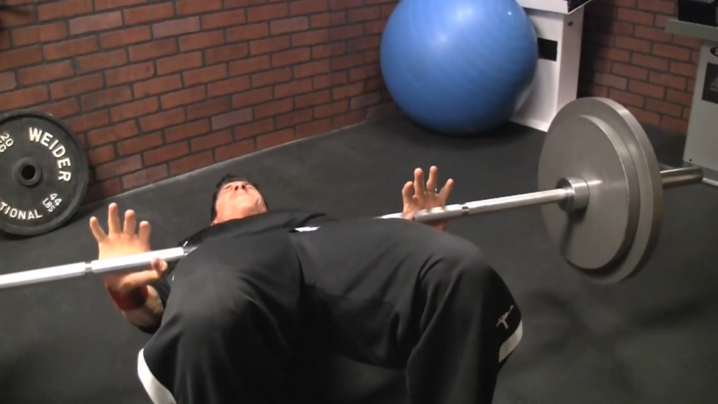 barbell hip thrust safe glutes exercise for knees