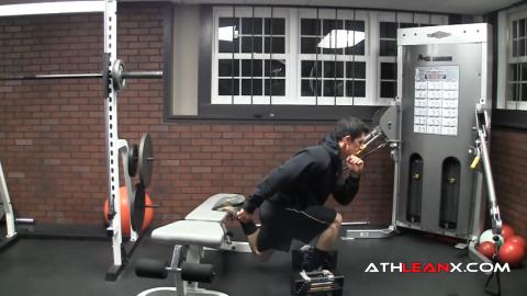 bodyweight bulgarian split squat safe leg exercise for knee problems