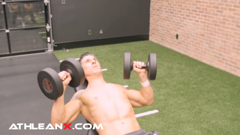 Correct Incline Bench Press Angle How To Guide Athlean X