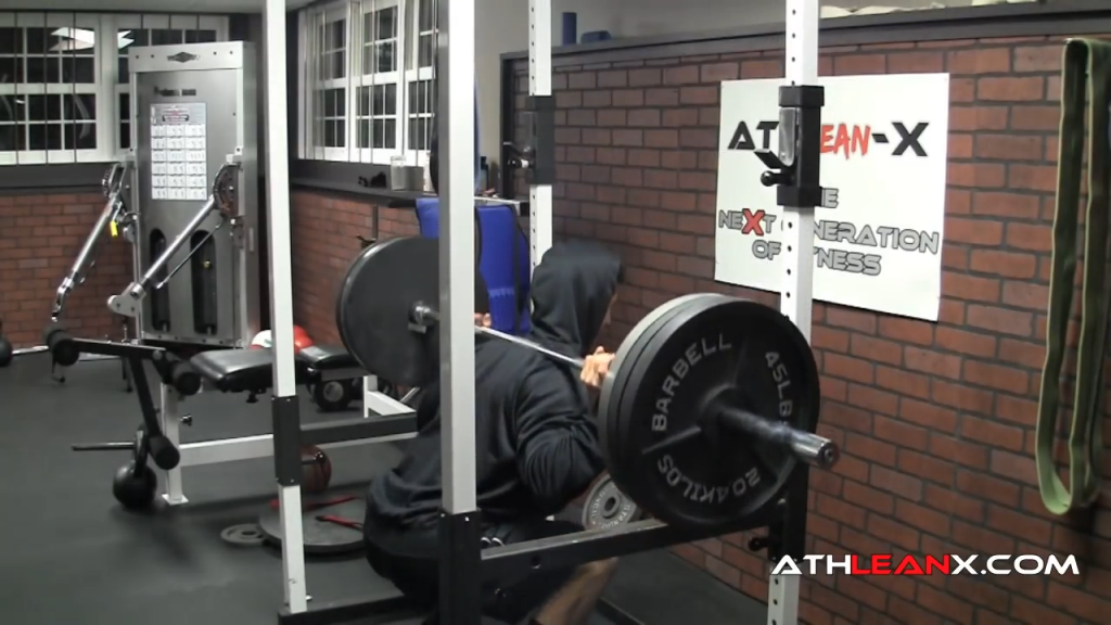 pause squat with additional load safe leg exercises for bad knees