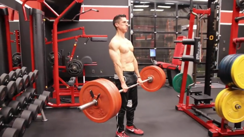 barbell deadlift exercise