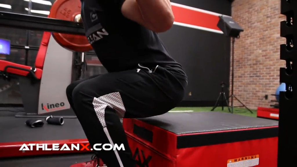 box squat touch up sets