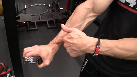 clip squeeze wrist rocks exercise