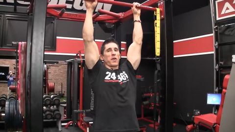 dead arm hang exercise
