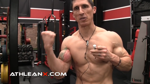 elbow flexion function of the biceps