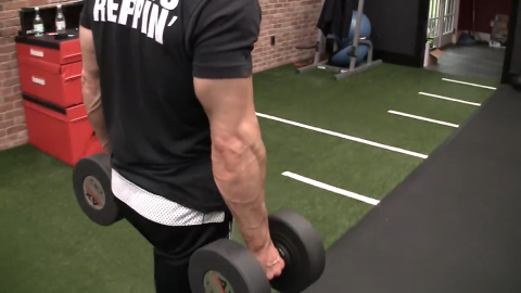 farmers carry forearm exercise