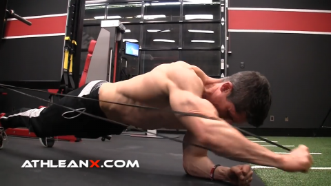 plank punch out advanced abs exercise for serratus