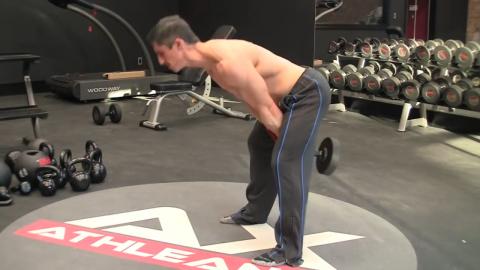 dumbbell swing exercise