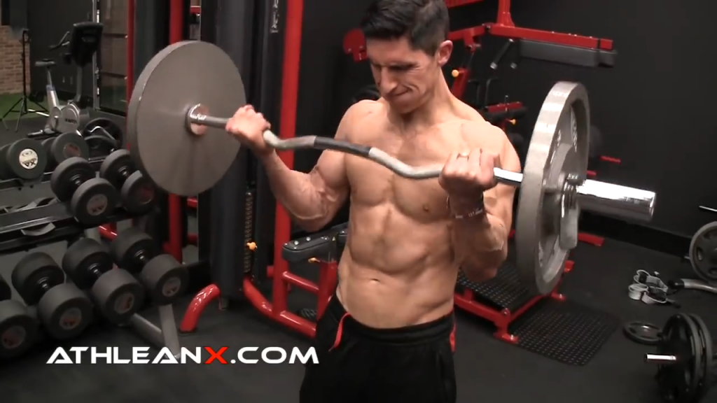 the ATHLEAN In10sity technique for biceps growth by Jeff Cavaliere