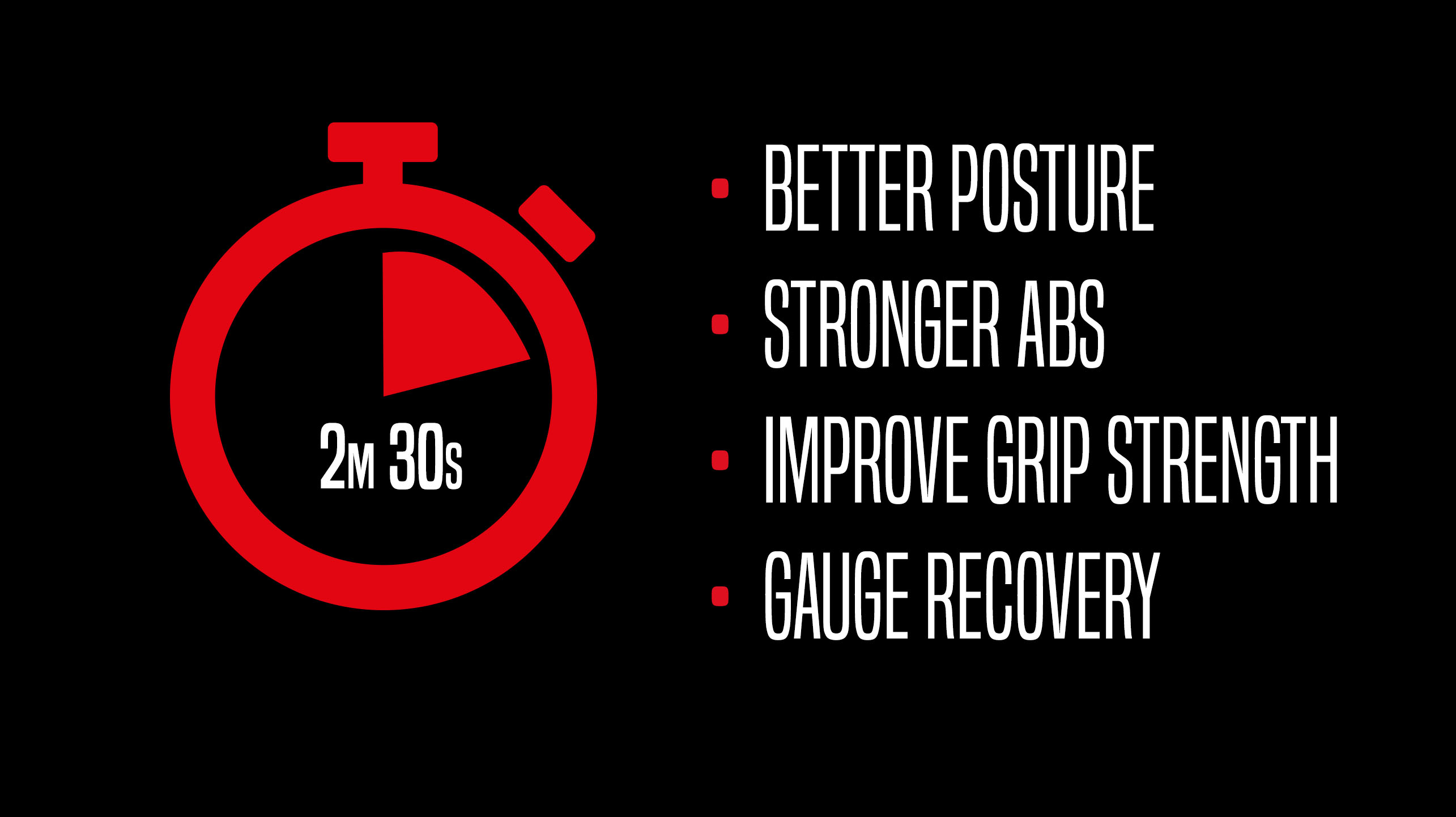 2 minute 30 second morning routine for better posture, stronger abs, improve grip strength, gauge recovery