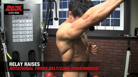 relay raises shoulder exercise