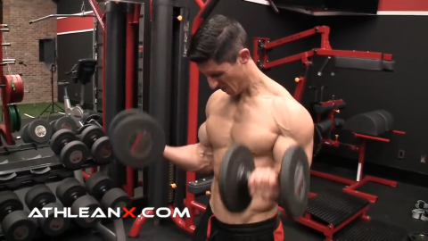 sliced reps technique for biceps growth