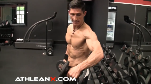 dont bend your arm in the side lateral raise