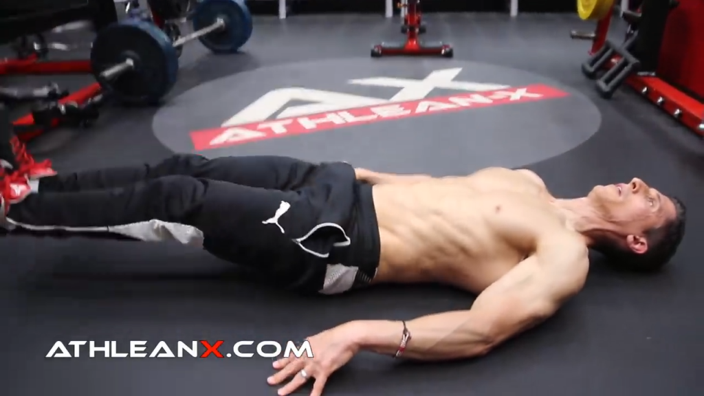 don't swing your legs in bottom up abs exercises