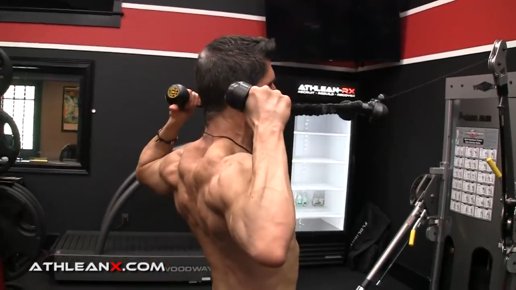 elbows should not beat hands in the facepull