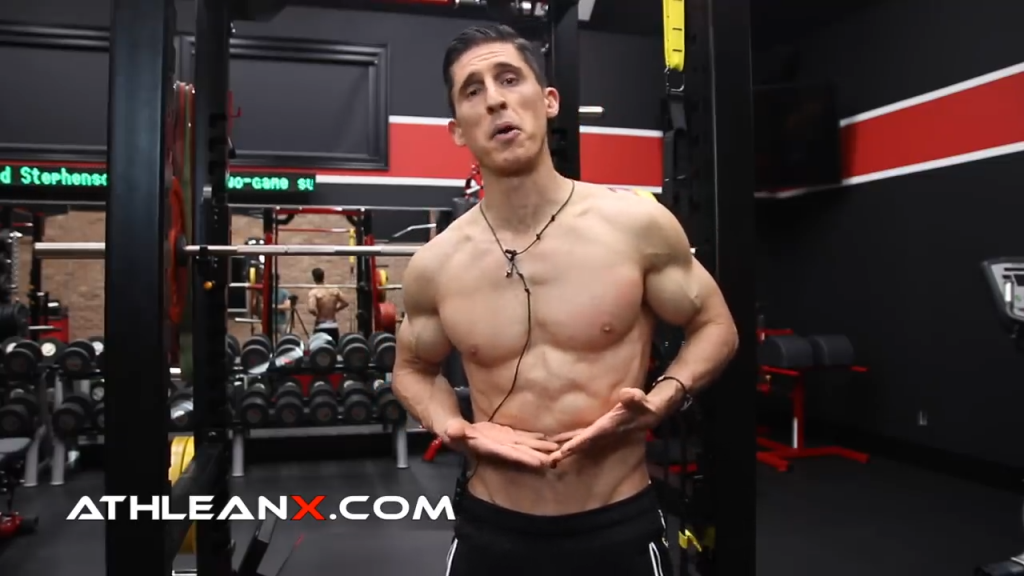 a good diet might get your middle and upper abs to show