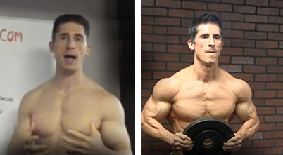 jeff cavalieres shoulder delt growth between 33 and 40 years old