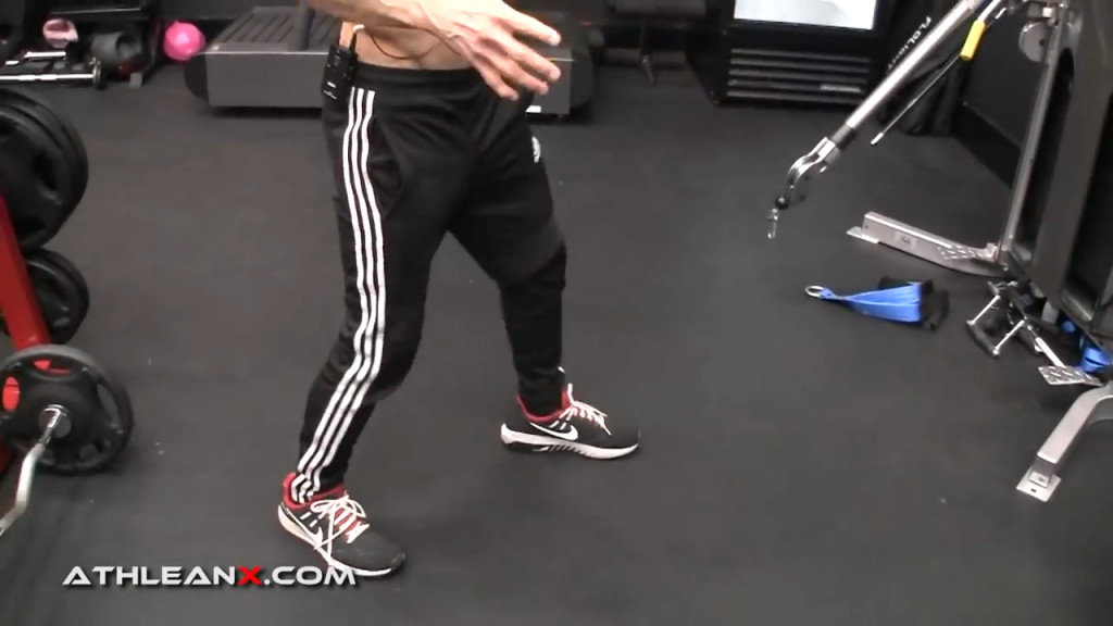 people get confused about stance for the facepull