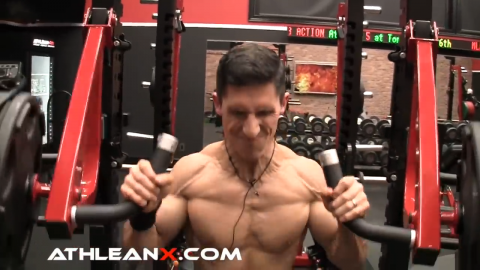 push press heavy lift for shoulders