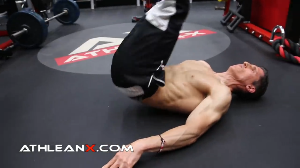 reverse crunch hits type 2 muscle fibers in the rectus abdominis