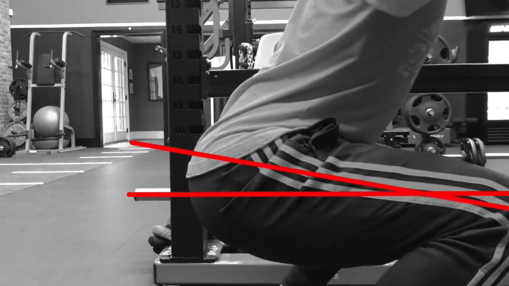 squatting close to parallel is easier but less effective