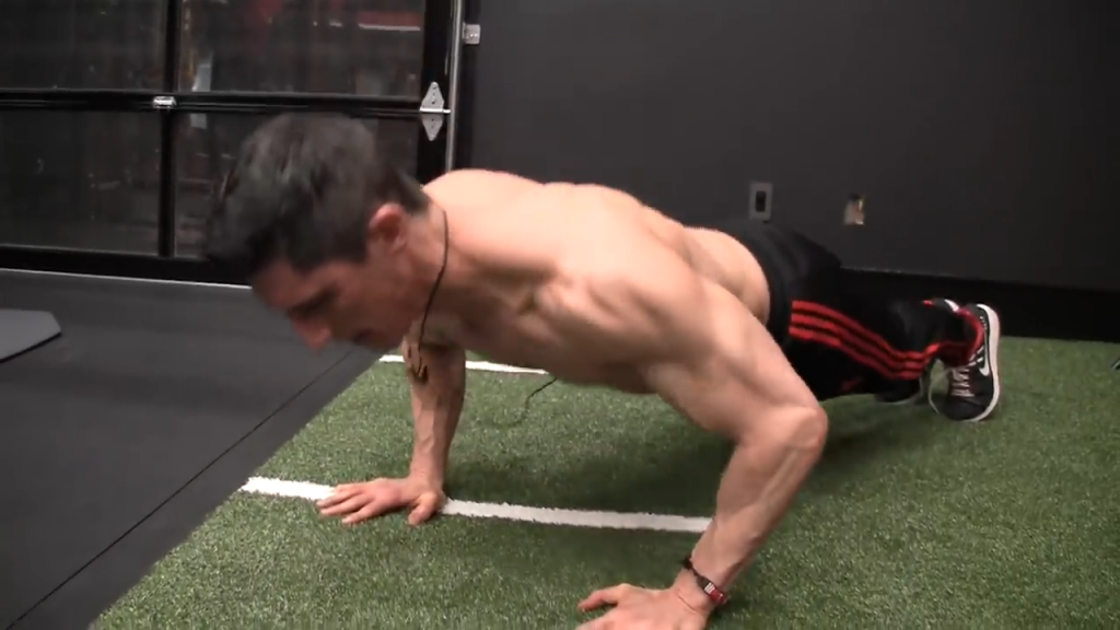 this is the correct full range of motion for pushups
