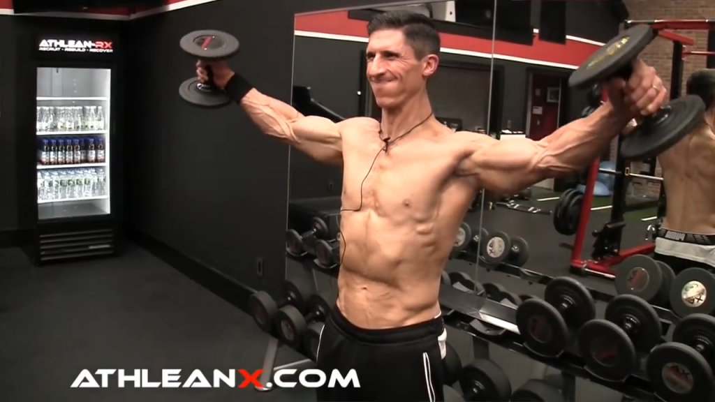 zero momentum side lateral raise