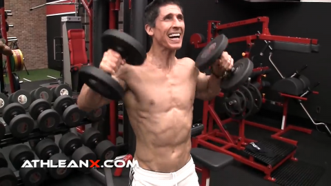dumbbell high pull for shoulders metabolic