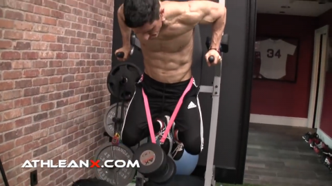 dumbbell weighted dip for chest