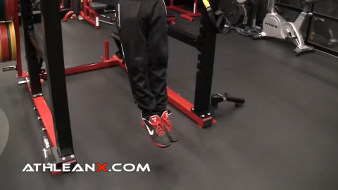 engage your quads and point the toes in the pullup