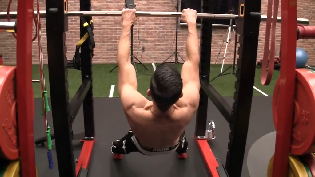 go lower in the high incline row as you get stronger