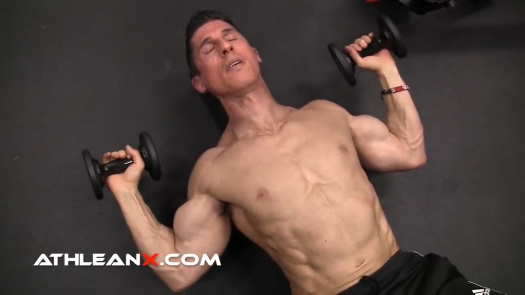 lift your arms up and out to the side to achieve a full pec minor stretch