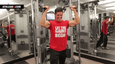 reaching tempo failure with cable push press