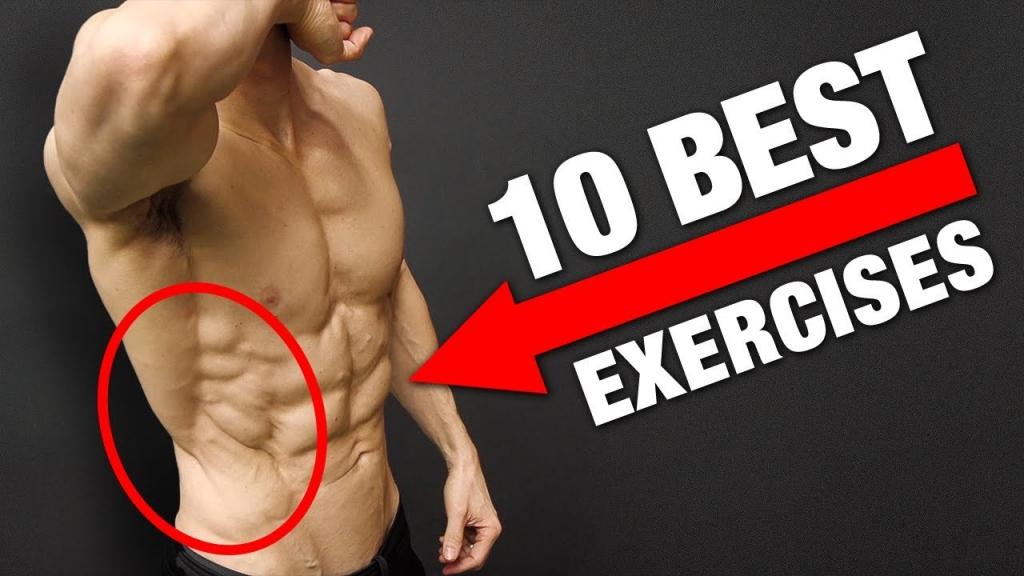 Top 10 OBLIQUES Exercises
