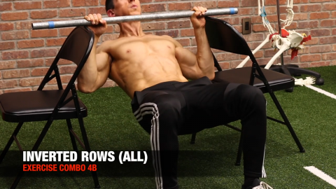 inverted row exercise