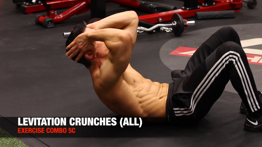 levitation crunches for abs