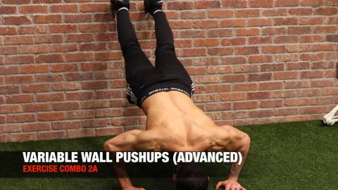 variable wall pushups