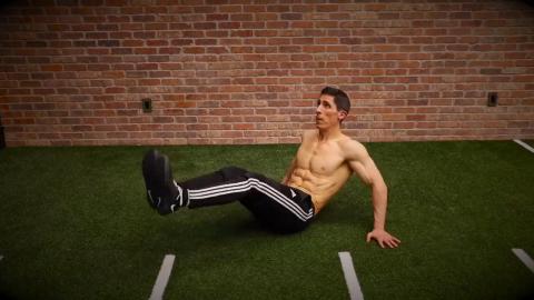 v-sit pulse exercise
