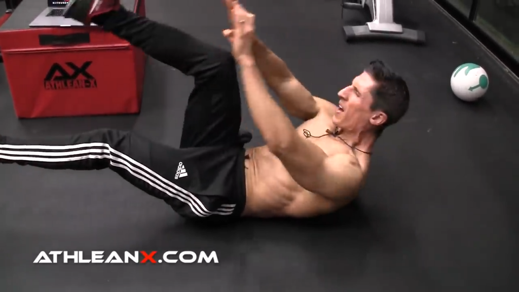 21 crunch lower abs exercise