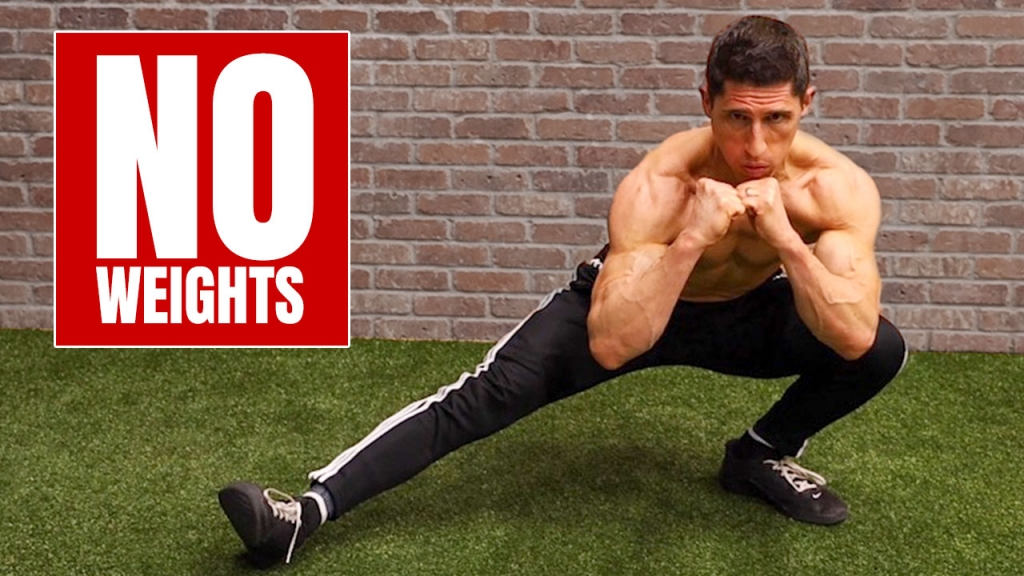 bodyweight legs workout no equipment