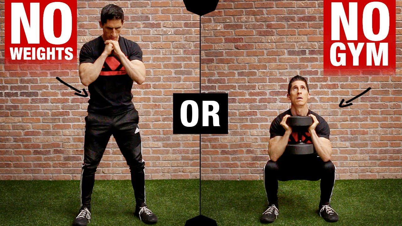 Killer Home Leg Workout Bodyweight Or Db Athlean X