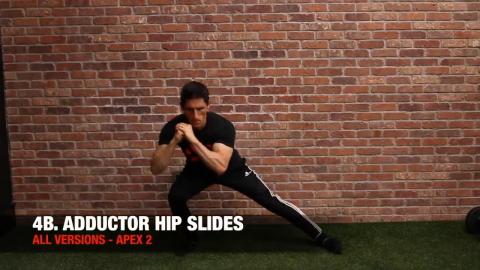 adductor hip slides