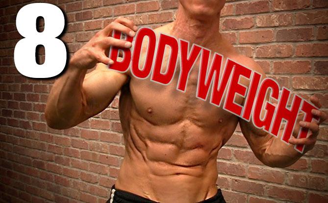 bodyweight exercises 8 best